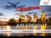 Air logistics service in canada