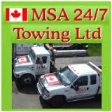MSA Towing Service - Flat tire,  Flatbed towing,  Heavy duty towing,  Eme