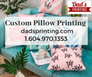 Decorate Your House To Uniqueness With Custom Pillows Printing