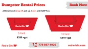 Dumpster Rental Prices in Victoria   Junk Pickup Cost